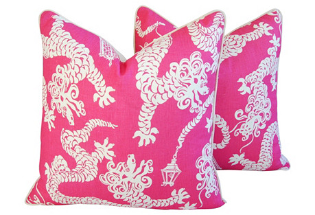 Lee Jofa Lilly Pulitzer Pillows, Pr