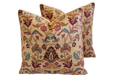 Ralph Lauren Melstone Rug Pillows, Pair