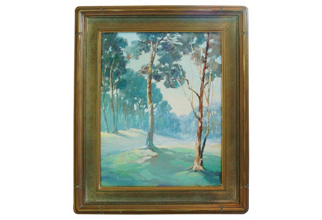 1940s Eucalyptus Grove by Ethel Leive