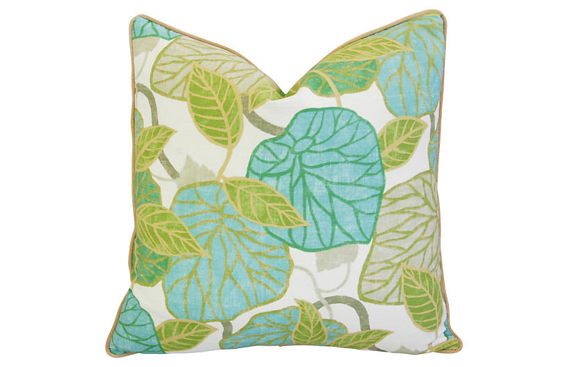 Atrium Conservatory Foliage Pillow