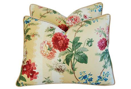 Brunschwig & Fils Sybilla Pillows, Pair