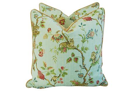 Scalamandré Fleur Des Indes Pillows, Pr