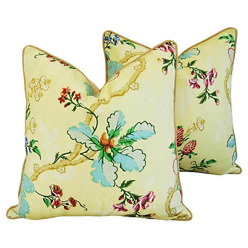 Brunschwig & Fils Fabriano Pillows, Pr