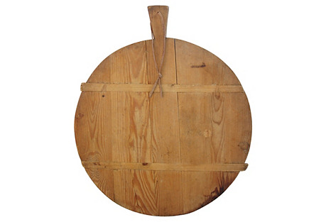 1920s French Harvest Bread Cheese Board