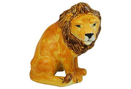 Midcentury Italian Lion by Bellini
