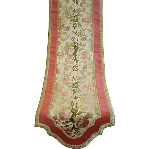 1930s French Table Runner