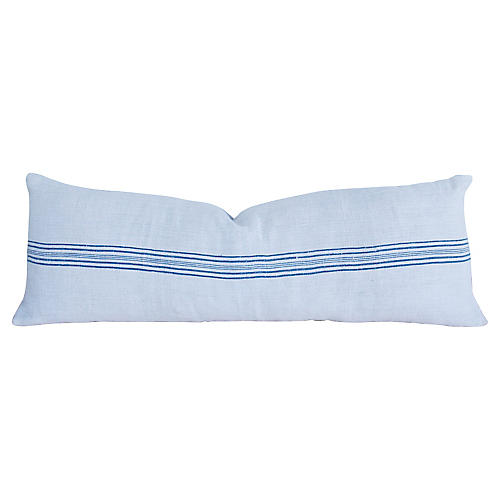 "56"" Long French Homespun Body Pillow"