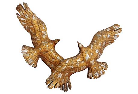 Midcentury Bird Sculpture