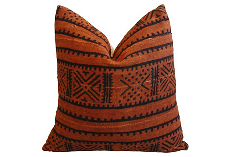 Handwoven Tribal Textile Pillow