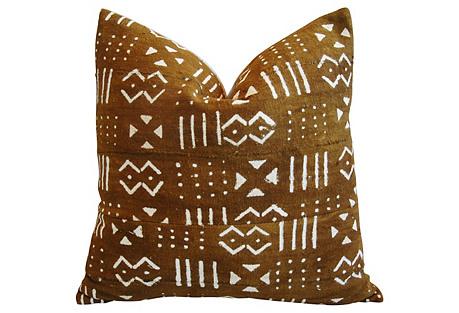 Handwoven Tribal Textile Pillow