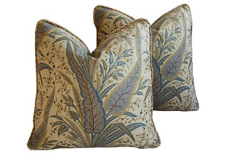 Cowtan Tout Victoria Paisley Pillows, Pr