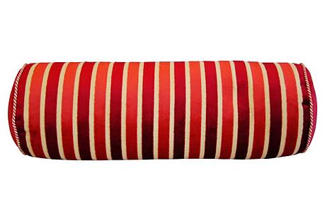 Clarence House Velvet Fabric Bolster