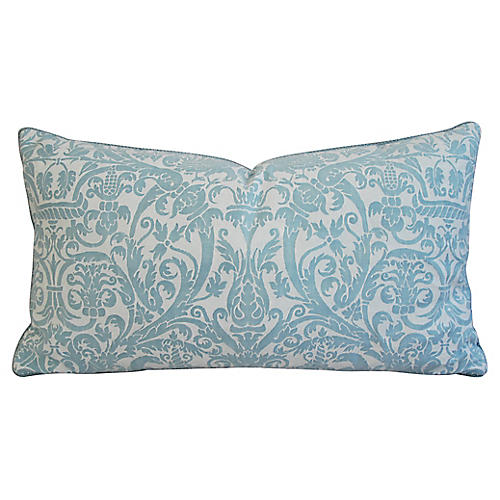 Italian Mariano Fortuny Uccelli Pillow