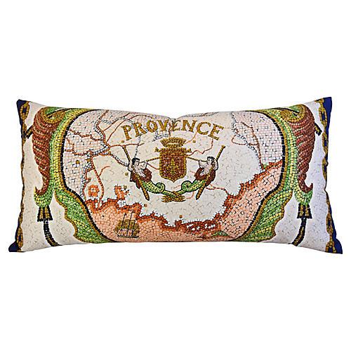 Hermès Hugo Grygkar Provence Silk Pillow