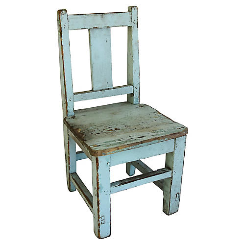 Early-20th-C. Child's Chair