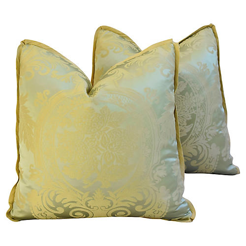French Nobilis Palais Royal Pillows, Pr
