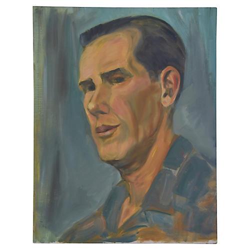 Midcentury Gentleman Portrait