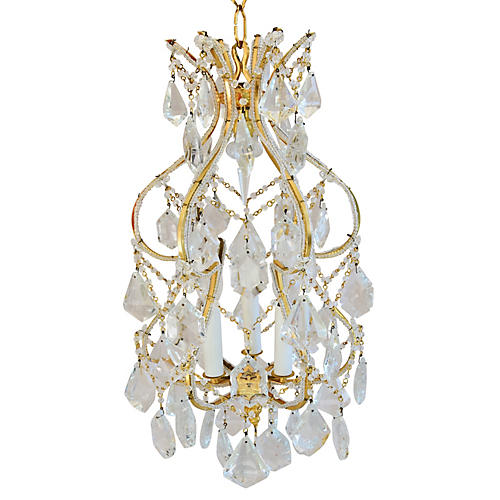 French-Style Crystal Chandelier