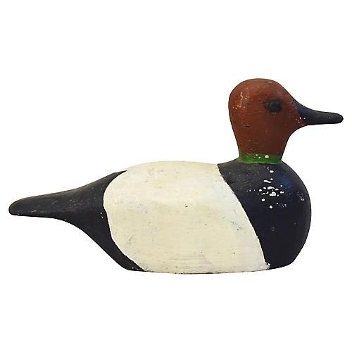 1940s Wood Duck Decoy
