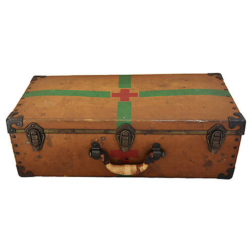 1940s Military Medical Suitcase w/ Cross