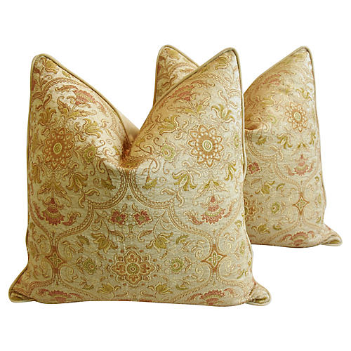 Brandywine Woven Old World Pillows, Pr