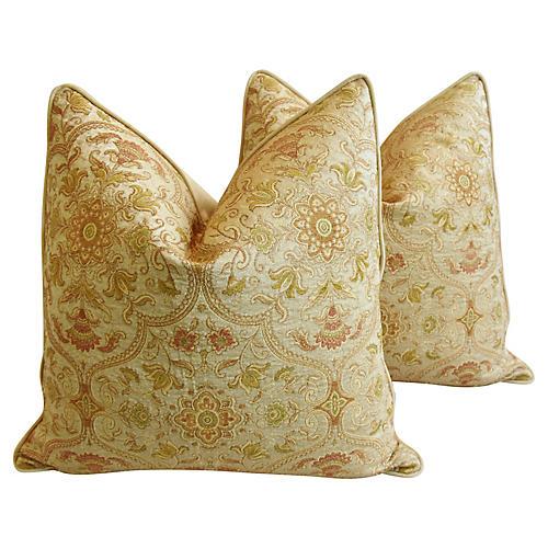 Brandywine Woven Old World Pillows, Pr