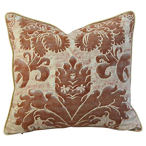 Italian Mariano Fortuny Glicine Pillow