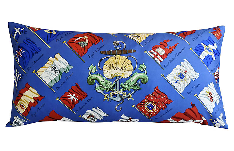 Hermès Philippe Ledoux Silk Pillow