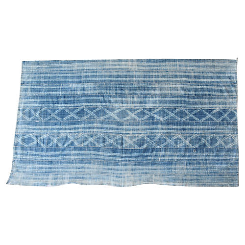 Vintage African Faded Cotton Textile