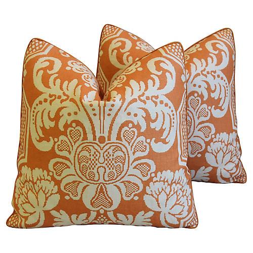 Vervain Trocadero Linen Pillows, Pair