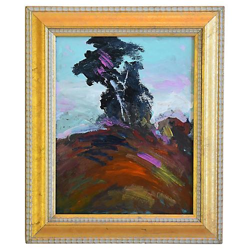 Juan Guzman, Ojai Abstract Landscape