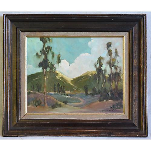 David A. Wilson Plein Air Landscape