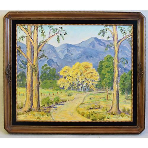 Florence Dickinson, Mountain Landscape