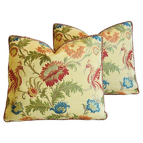 Italian Coraggio Jacquard Pillows, Pr