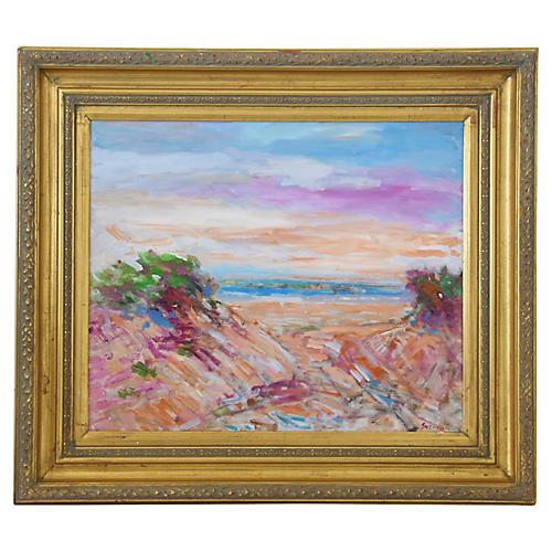 Juan Guzman Plein Ventura/Ocean Painting