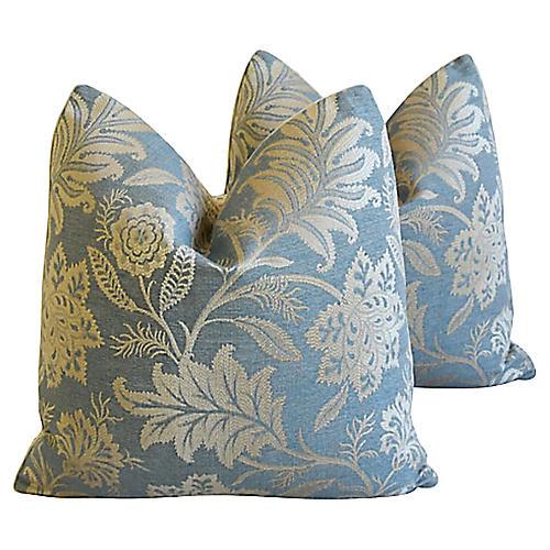 GP & J Baker Lismore Damask Pillows, Pr