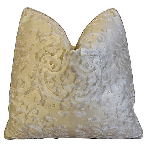 Italian Fortuny Carnavalet Pillow