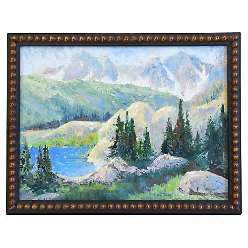 Zoltan, Plein Air Mountain Painting