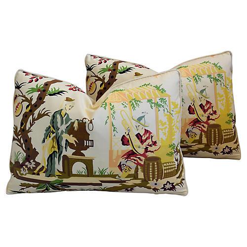 Brunschwig Fils/Scalamandre Pillows, Pr
