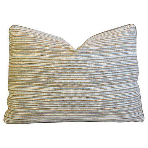 Hodsoll McKenzie Wool & Leather Pillow