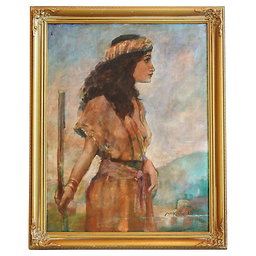 Shepherdess Portrait