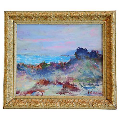Ventura Seascape Landscape by J. Guzman