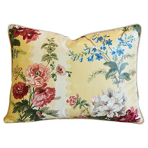 Brunschwig & Fils Sybilla Floral Pillow