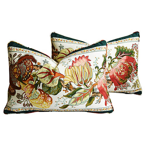 Brunschwig & Fils Portugaise Pillows, Pr