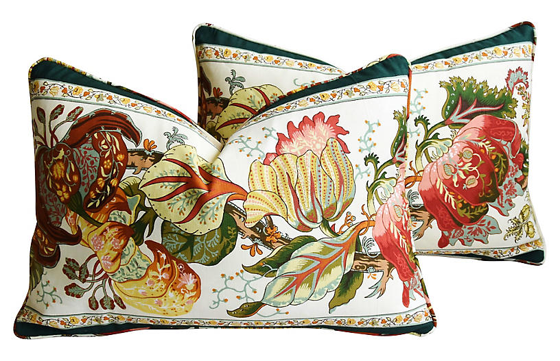 Brunschwig & Fils Portugaise Pillows, Pr
