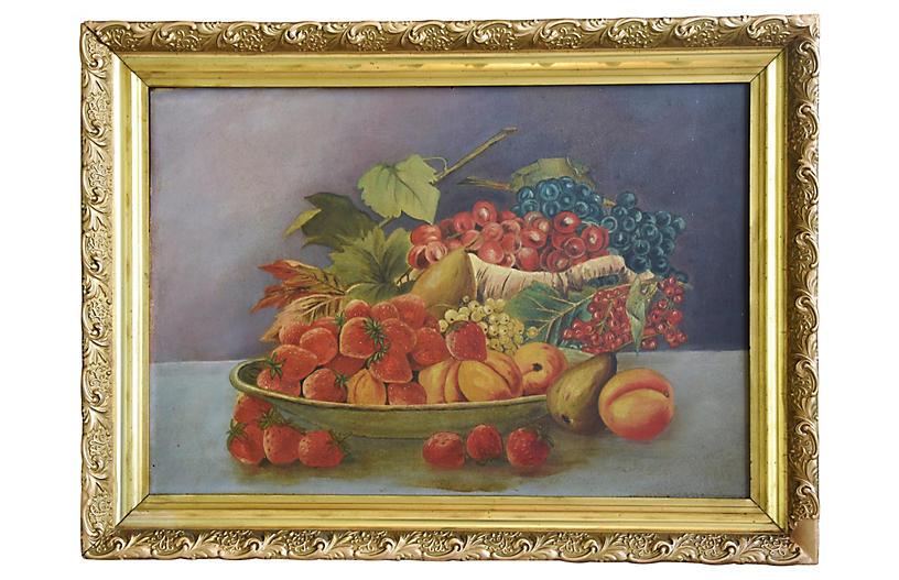 Antique Fruit Still life Painting