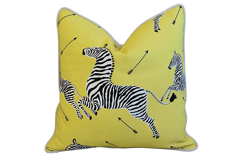 Scalamandré Zebra Pillow
