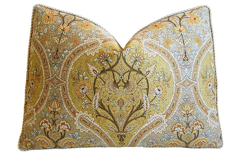 Old World Weavers Italian Verbana Pillow