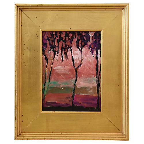 Impressionist Landscape by Juan Guzman