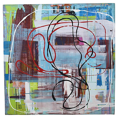Contemporary Abstract by Frank Jensen